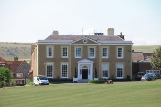 Ovingdean Hall School, where Daisy Noakes worked as a maid   Barry White (photographer)