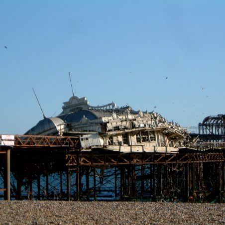 West Pier in ruins | Michael Doyle (photographer)