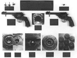 Ballistics evidence | essex Police Museum.