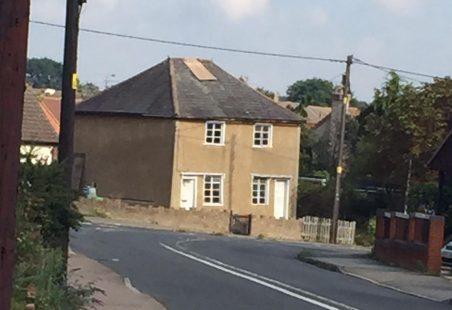 Little houses in Church Street
