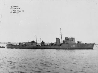 HMS Cattistock in 1941 | Royal Navy official photographer [Public domain], via Wikimedia Commons