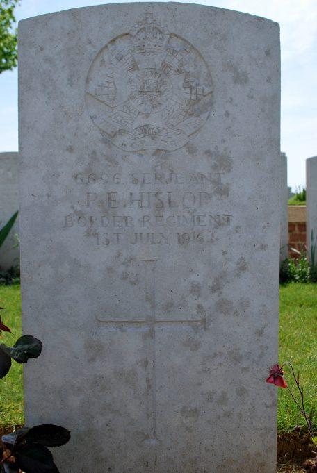 Serjeant Hislop's headstone | Billericay ATC