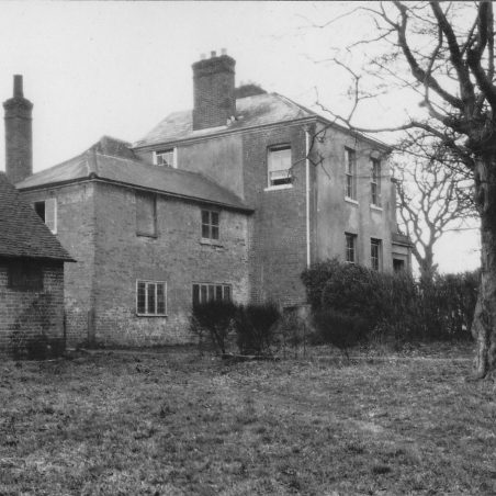 The Rectory. Main building errected in the 18th Century. Has a fragmentary moat in the grounds.