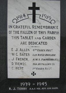 Crays Hill War Memorial