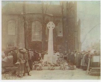 Dedication of the War Memorial
