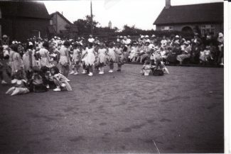 May Queen Parade - me 4th from left | Joan Shirmer