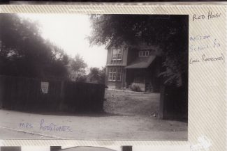 Mrs Redstones House next to Billericay School | Joan Shirmer