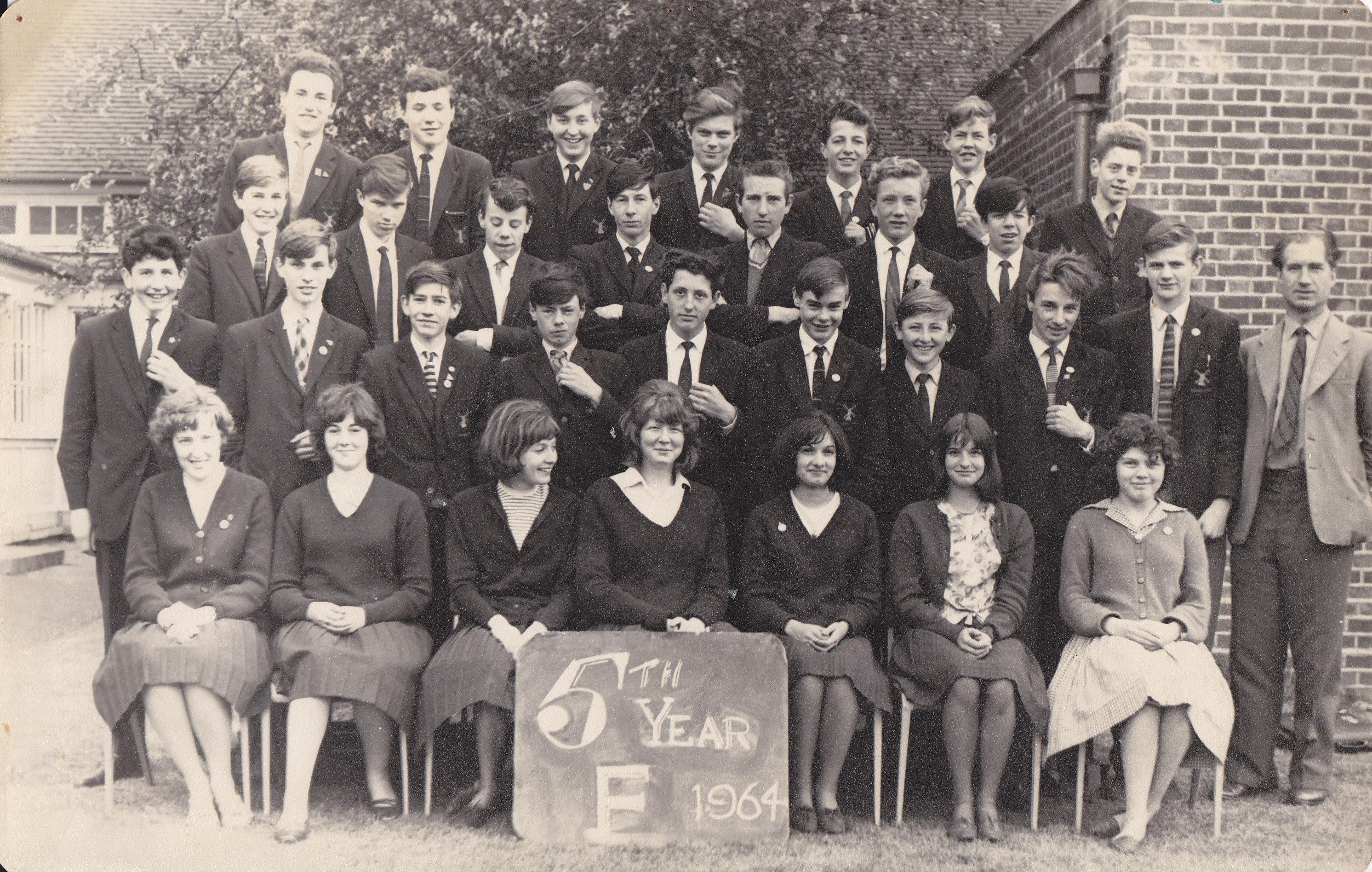 Class 5F in 1964