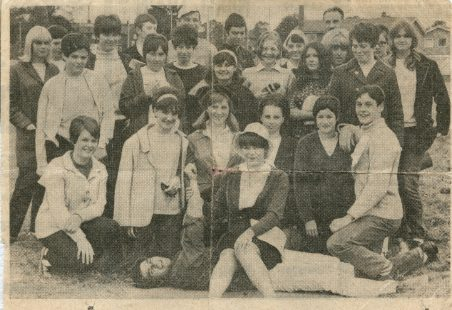 Youth Club's Sponsored Walk 1967
