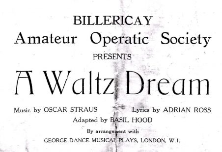 Billericay Amateur Operatic Society