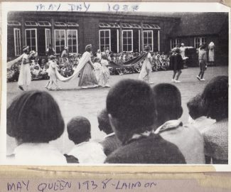 May Queen Parade 1937 Laindon Road School | Joan Shirmer