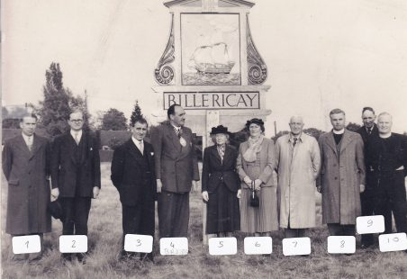 Town Sign Unveiling
