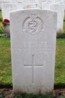 Private Elkins's gravestone | Billericay ATC
