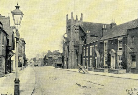 High Street then and now
