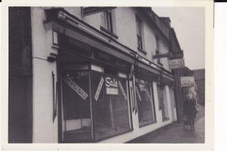 Old Bank House - Now Argos   Joan Shirmer