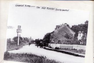 Grange Road - The Old Plough - now Doctors   Joan Shirmer
