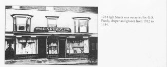 Purdy's Grocery & Haberdashery   Joan Shirmer - found in book