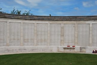 Part of the Tyne Cot Memorial | Billericay ATC