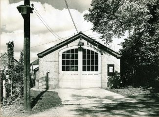 The Fire Station in Western Road   courtesy of Essex Fire Brigade Museum