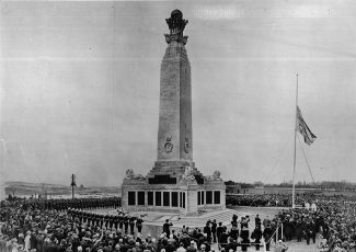 Chatham Naval Memorial unveiling on 26th April 1924 | CWGC