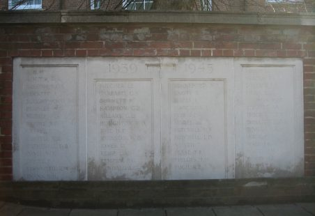Second World War Memorial
