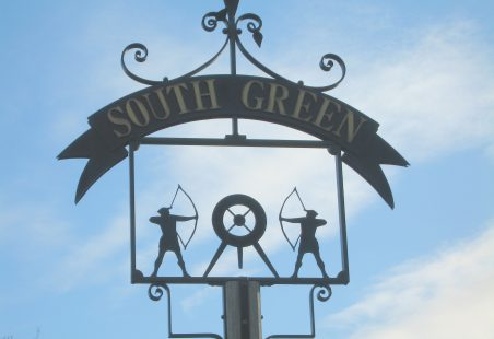The South Green Sign