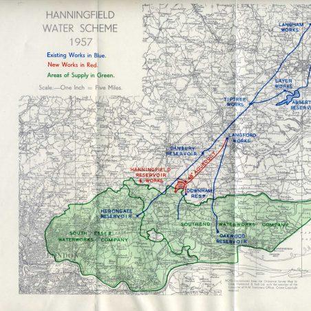 Hanningfield Water Scheme 1957