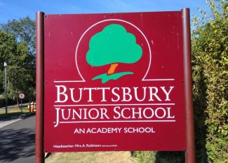Buttsbury Junior Sign