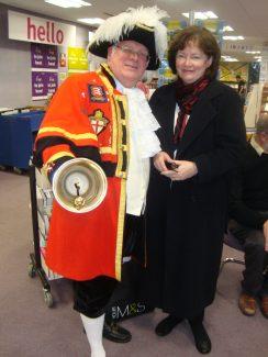 Katie and Jim Shrubb, Town Crier | Sylvia Kent