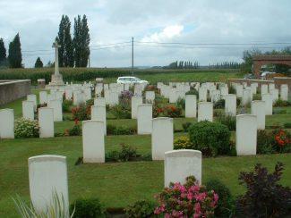 Calvaire (Essex) Military Cemetery | CWGC