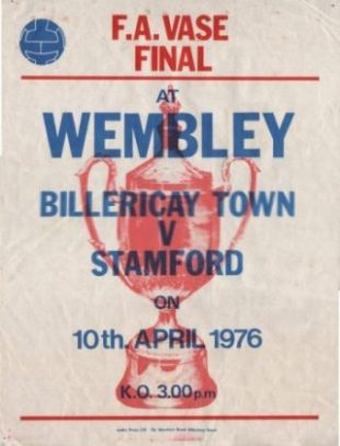 Poster for 1976 Final