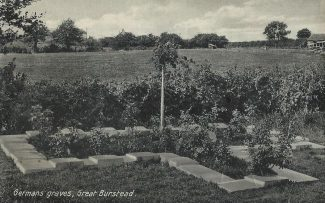 German Graves at Great Burstead | Basildon Heritage