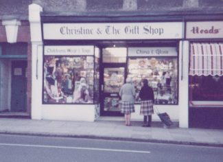 The shop in the High Street