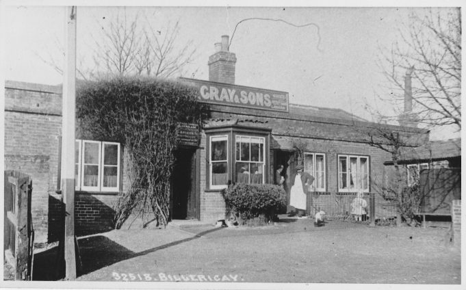 The Coach & Horses before it gained an upper floor.