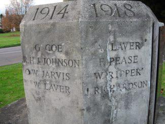 Little Burstead War Memorial