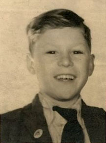 Photo of me as School Captain 1949