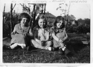Me on the left in Sunnymede 1934 | Joan Shirmer