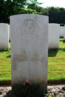 Private Speller's gravestone | Billericay ATC