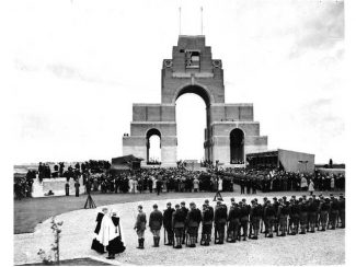 The dedication of Thiepval Memorial | CWGC