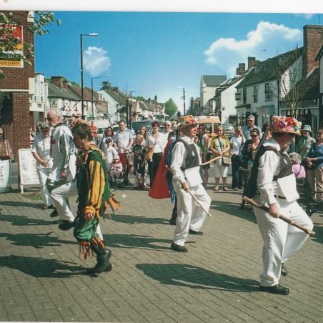 Billericay Morris Men on St. Georges Day