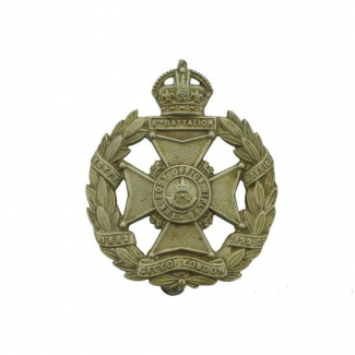 8th Battalion Post Office Rifles, London Regiment Cap Badge