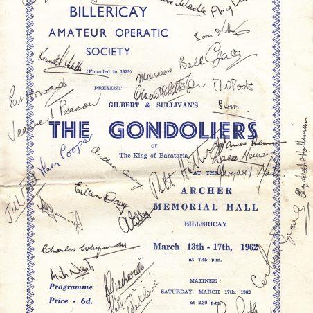 1962 - Gondoliers