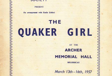 Quaker Girl - 1947