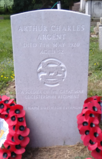 Private Argents new gravestone | Jim Devlin