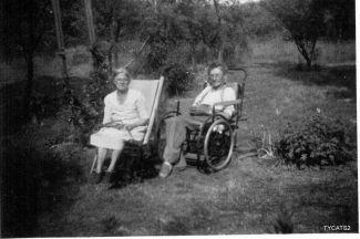Nana and Grandad Peters circa 1946