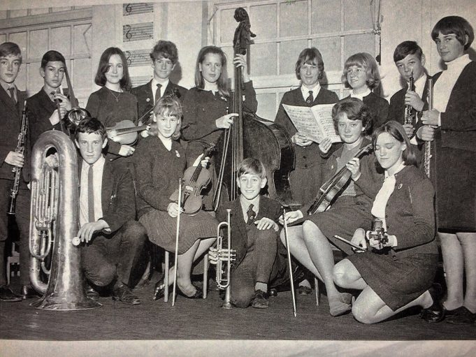 A select few playing at a concert at Billericay Secondary School. I'm with the trombone. | Keith Clempson