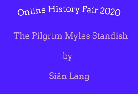 The Pilgrim Myles Standish