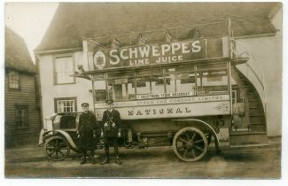 Chelmsford Steam Bus Outside the Chequers | Anthony Shane Ringrow