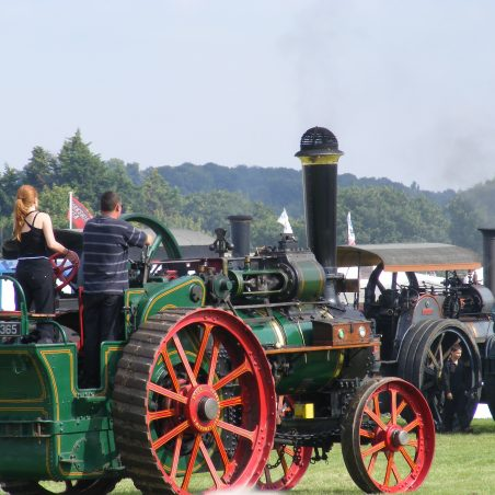 Close up of Traction Engine 1