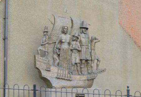 Billericay Mayflower Sculpture